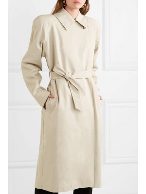 Balenciaga oversized cotton-gabardine trench coat
