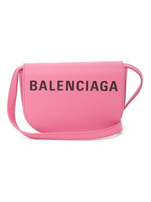 Balenciaga ville calfskin day bag