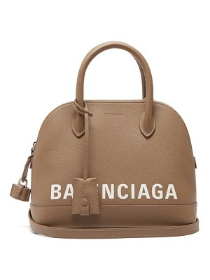 Balenciaga ville small leather cross body bag