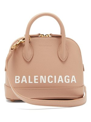 Balenciaga ville xxs leather cross body bag