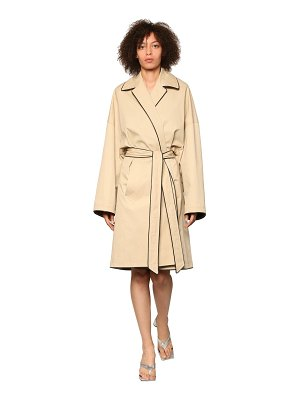 Balenciaga Water repellent cocoon midi coat