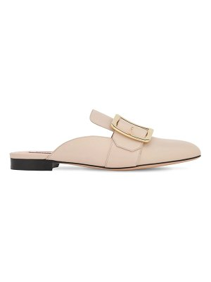 Bally 10mm janesse leather mules