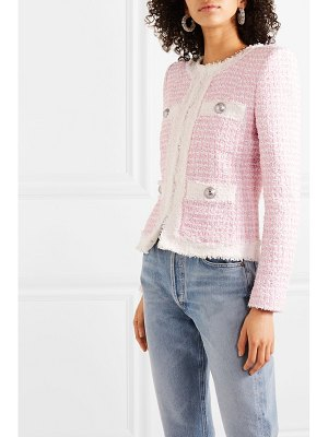 Balmain embellished tweed blazer