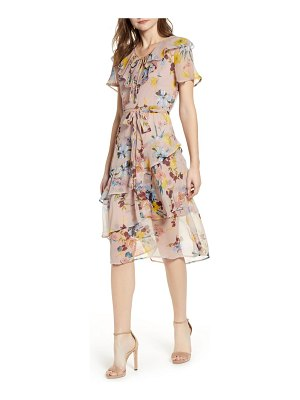 Band Of Gypsies sunny floral print dress