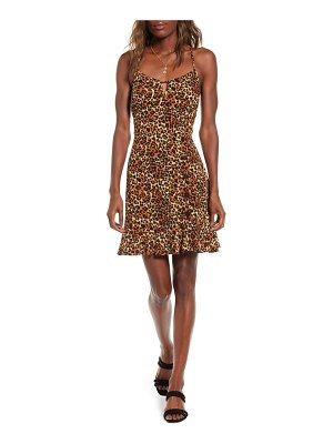 Band Of Gypsies tiger's eye minidress
