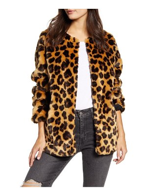 Band Of Gypsies walk on the wild side faux fur jacket