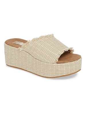 Band Of Gypsies wren wedge slide sandal
