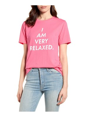 BAN.DO ban. do i am very relaxed graphic tee