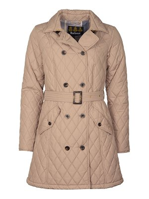 Barbour cornell belted quilt jacket