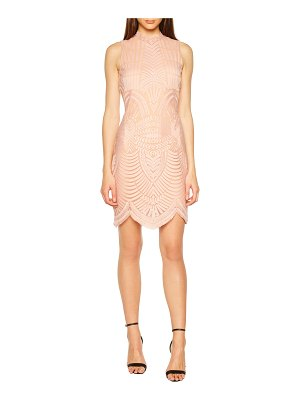 Bardot alice lace body-con dress