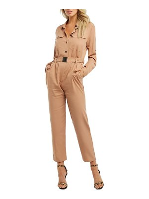 Bardot buckle up utility jumpsuit