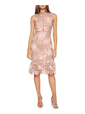 Bardot dani lace sheath dress