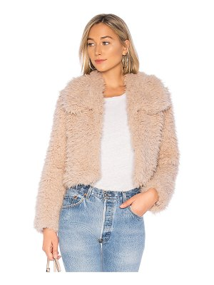 Bardot Faux Fur Jacket