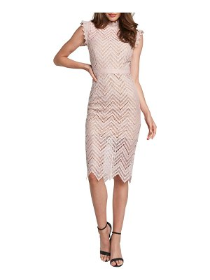 Bardot imogen lace body-con dress