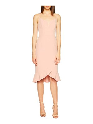 Bardot kristen flounce dress