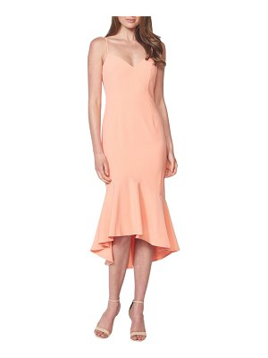 Bardot lisandra high/low ruffle dress