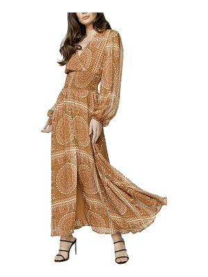 Bardot mara long sleeve maxi dress