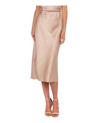 Bardot mila satin skirt