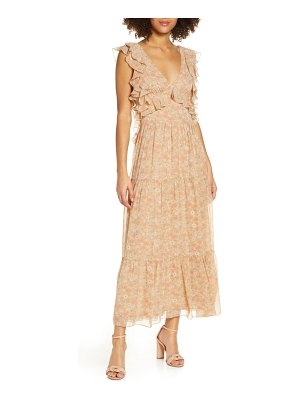 Bardot simona floral midi dress
