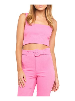 Bardot square neck crop tank top
