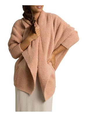 Barefoot Dreams cozychic chevron ribbed cardigan