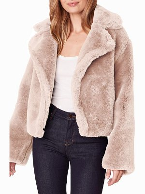BB Dakota big time faux fur jacket