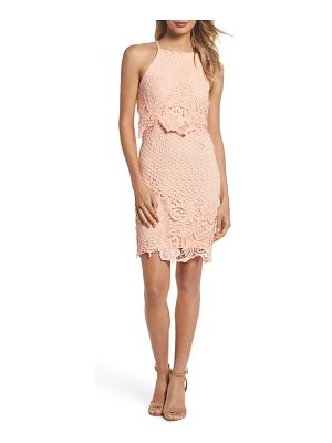 BB DAKOTA Bryn Lace Halter Dress