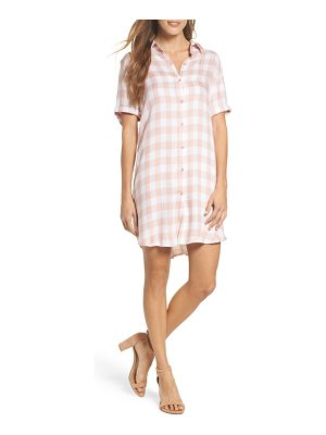 BB DAKOTA Cicely Plaid Shirtdress
