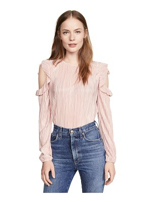 BB Dakota i'm a professional cold shoulder pleated top