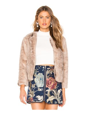 BB Dakota JACK by BB Dakota Fast And Furious Faux Fur Jacket