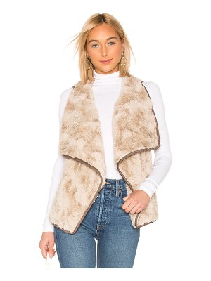 BB Dakota JACK by BB Dakota Most Valuable Layer Faux Fur Vest