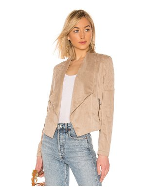 BB Dakota jack by  quilt trip faux suede jacket