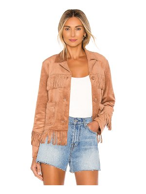 BB Dakota loose ends fringe jacket