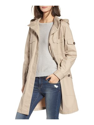 BB DAKOTA Noah Water Repellent Cotton Twill Coat