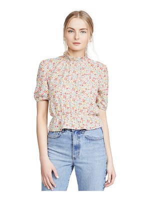 BB Dakota printed bubble top