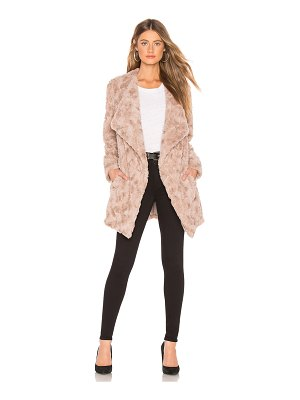 BB Dakota tucker faux fur jacket