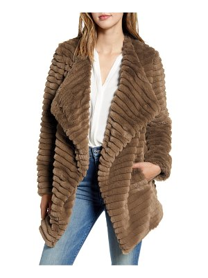 BB Dakota what a girl wants faux fur coat