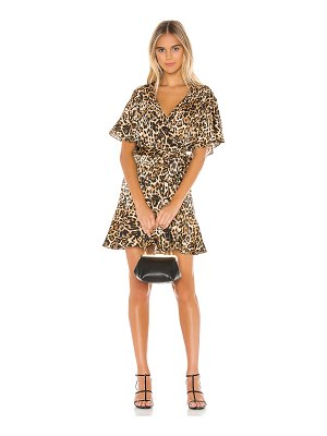 BB Dakota wild card wrap dress