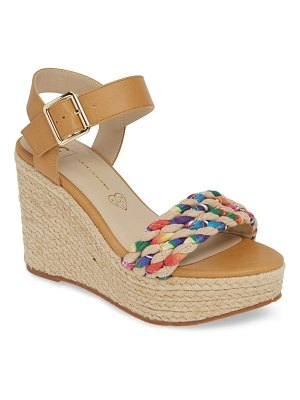 BC Footwear dew drops vegan espadrille wedge sandal