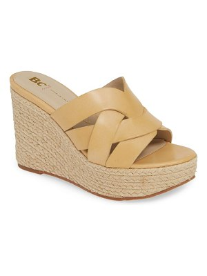 BC Footwear eden vegan espadrille wedge