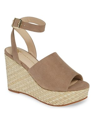 BC Footwear wild orchids vegan wedge sandal