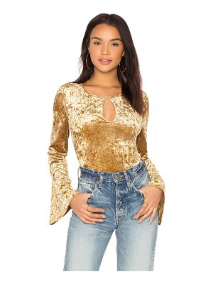 BCBGeneration Bell Sleeve Bodysuit
