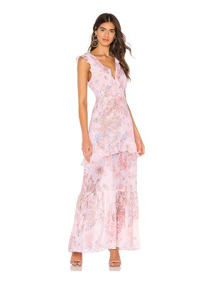 BCBGeneration ruffle maxi dress