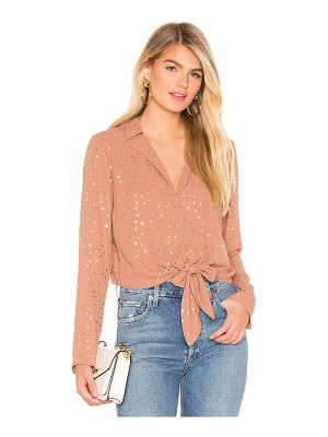 BCBGeneration tie front star top