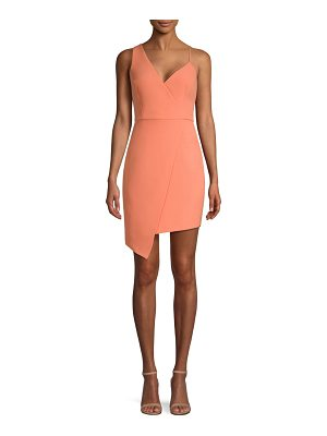 BCBGMAXAZRIA asymmetric mini dress