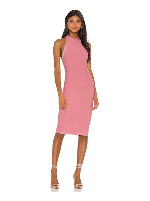 BCBGMAXAZRIA halter neck cocktail dress