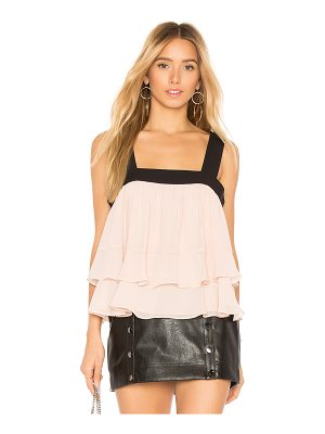 BCBGMAXAZRIA Jaklyn Sleeveless Shirred Top