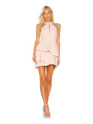 BCBGMAXAZRIA Ruffle Cocktail Dress