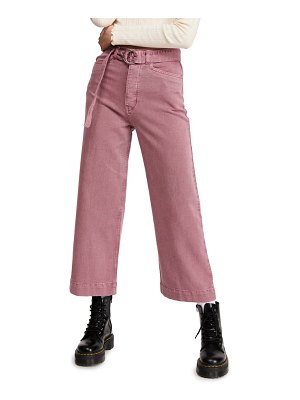 BDG urban outfitters belted flood jeans