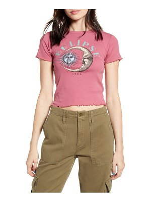 BDG urban outfitters eclipse lettuce edge tee